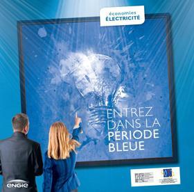 plaquette bleue
