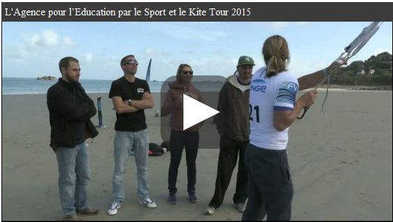 vidéo kitesurf
