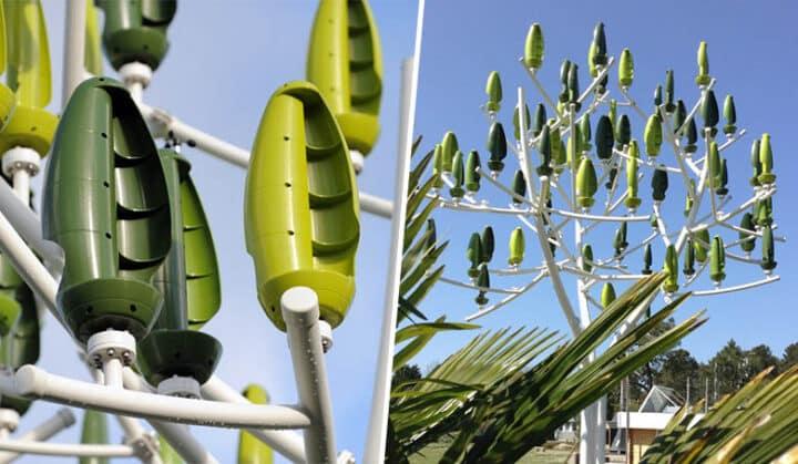 Aeroleaf, l'arbre à vent de NewWind