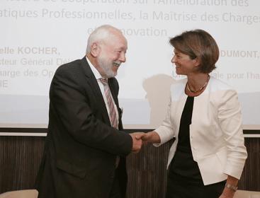 Isabelle Kocher et Jean-Louis Dumont