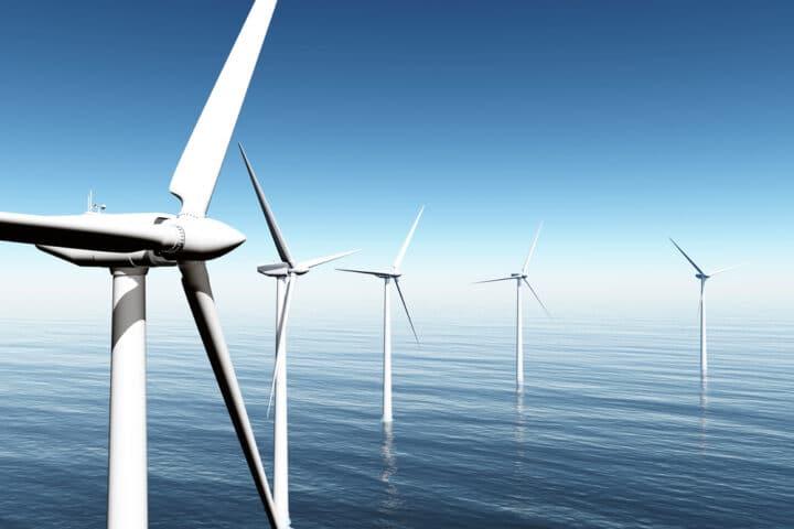 éoliennes marines