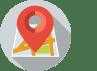 icone carte géolocalisée